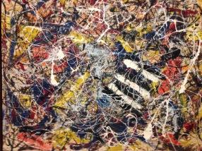 Post 12 Jackson Pollack Painting