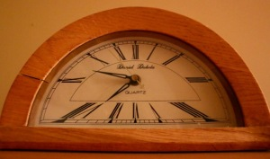 Post 33 Half Circle Clock