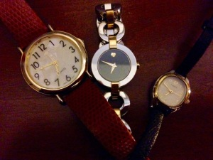Post 33 Three Watches