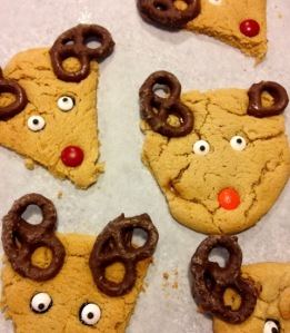 Imperfect Reindeer Cookie