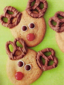 Perfect Reindeer Cookie