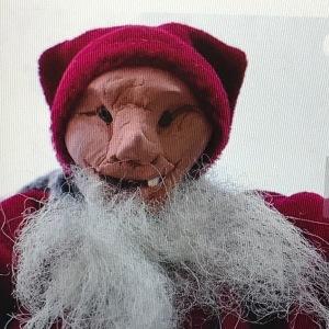 Grouchy Santa